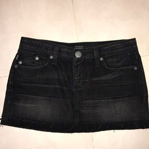 Rock & Republic Mini Skirt raw edge, 25